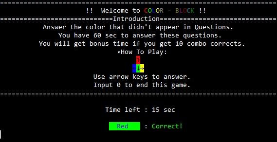 A fun puzzle game implemented in terminal(console) using C++